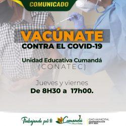 VACÚNATE CONTRA EL COVID-19