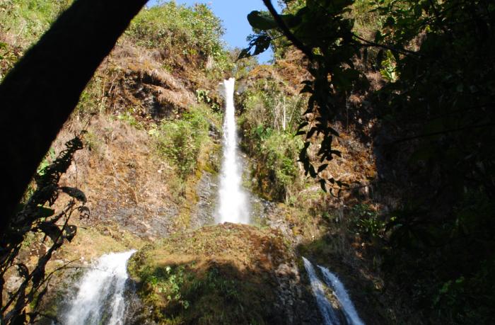 Cascadas Guagal